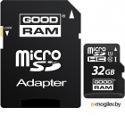 Goodram SDHC-micro Card 32Gb M1AA-0320R11 Class 10 UHS-I + adapter