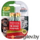 GP Smart Energy 100AAHCSV AA NiMH 1000mAh (2шт.уп.)