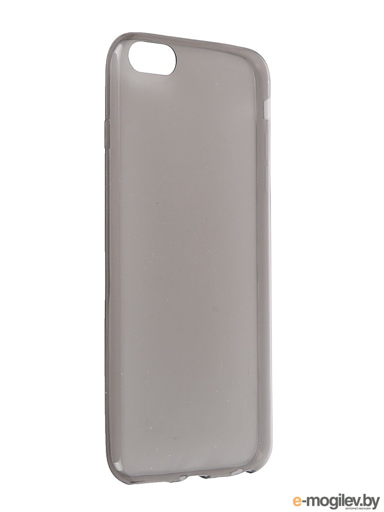 Чехол Krutoff для iPhone 6 Plus Transparent-Black 10678