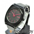 Nixon Time Teller P Black-Bright Pink