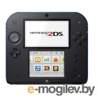 Nintendo 2DS Blue-Black  Mario Kart 7 ConNd2D8