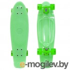 Y-SCOO Big Fishskateboard Glow 27 Green-Green 402E-G