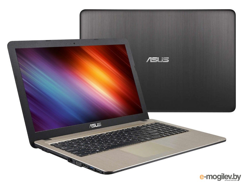 Нетбуки amp ноутбуки ASUS X540YA-DM624D 90NB0CN1-M10310 AMD E1-6010 1.35 GHz/4096Mb/500Gb/No ODD/AMD Radeon R2/Wi-Fi/Bluetooth/Cam/15.6/1920x1080/DOS