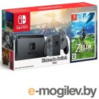 Nintendo Switch Grey  Legend of Zelda: Breath of the Wild