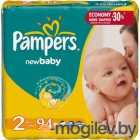 Подгузники. PAMPERS New Baby Mini 2 3-6 кг 94шт
