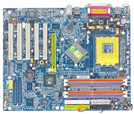 GIGABYTE GA-7N400AMD+Athlon XP 1700+ Thoroughbred S462 Уценка