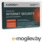 Программное обеспечение Kaspersky Internet Security Multi-Device Russian Edition 3-Device 1 year Renewal Card KL1941ROCFR