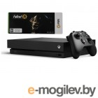 Приставки Microsoft Xbox One X 1Tb Black FMP-00058 + Fall Out