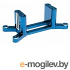 Engine mount, machined 6061-T6 aluminum (blue) (w/ screws) (Maxx Series).