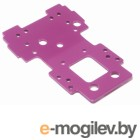BULKHEAD LOWER PLATE 2.5mm (PURPLE).