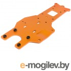 REAR CHASSIS PLATE (ORANGE).