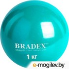 Медбол Bradex 1kg Light Blue SF 0256