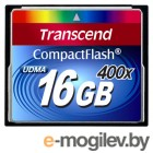 Compact Flash Card 16Gb 400x Transcend (TS16GCF400)