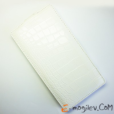 Чехол Armor-X для Sony Xperia T2 Ultra dual book Crocodile white