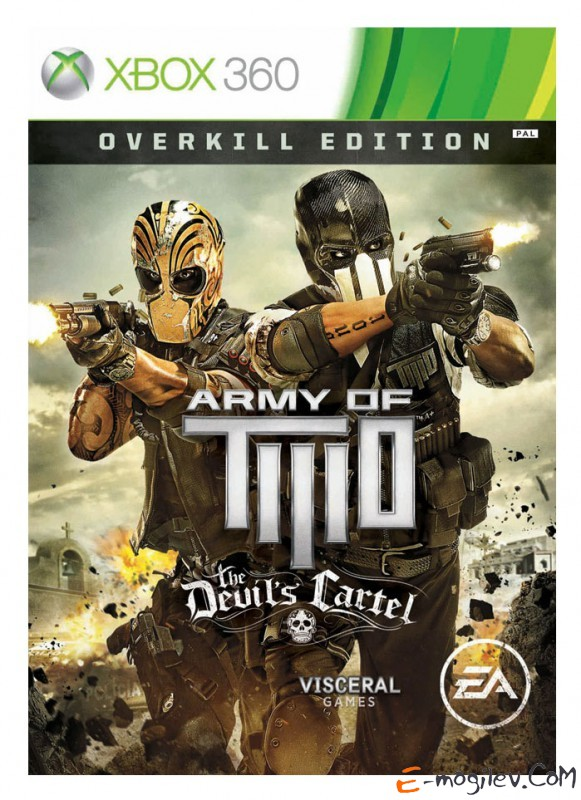 Игра для Xbox360 Microsoft Army of Two: The Devil's Cartel. Overkill Edition английская версия (RUS)