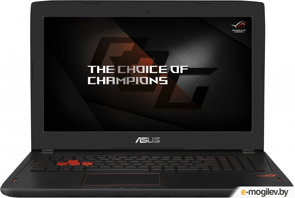 ASUS ROG GL502VT-FY010T 15.6(1920x1080)/Intel Core i7 6700HQ(2.6Ghz)/8192Mb/1000+128SSDGb/noDVD/Ext:nVidia GeForce GTX970M(3072Mb)/Cam/BT/WiFi/50WHr/war 1y/2.4kg/forge/W10