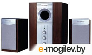MICROLAB M890 2.1 Silver-Brown
