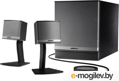Bose Companion® 3 multimedia speaker system, Graphite