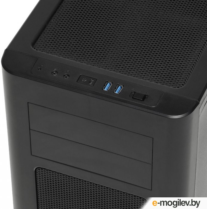 Fractal Design Arc Midi R2 Black w/o PSU ATX SECC 3*fan 2*USB3.0 audio screwless bott PSU window